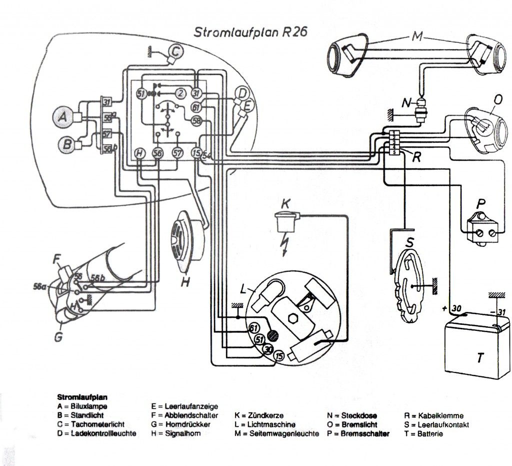 Bmw Wiring Diagrams : Bmw r wiring diagram auto