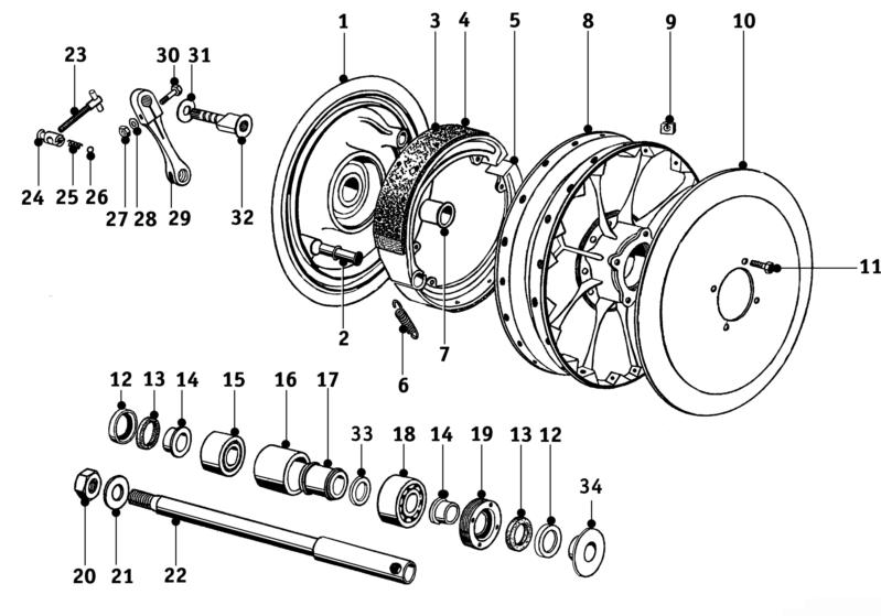 Wheel Hub R25 3 Salis Parts Salis Parts