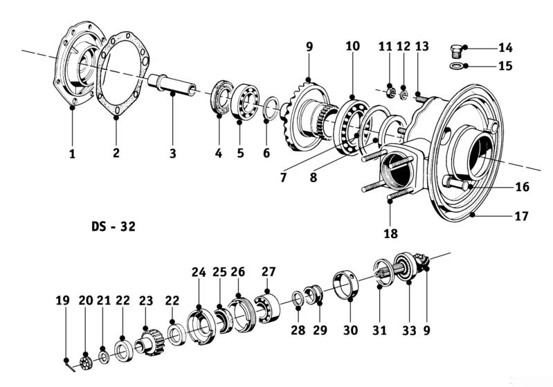 Wiring Diagram Bmw R26 : Final drive r salis parts